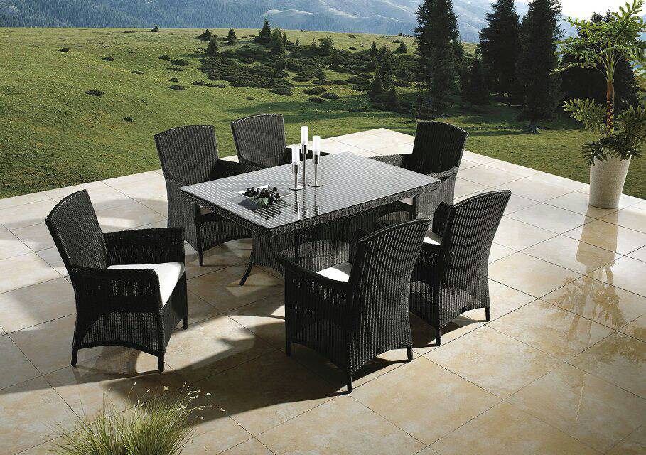 Home 7 Piece Conversation Set with Cushions