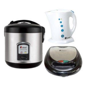 Saisho Rice Cooker, Electric Jug and Sandwich Maker