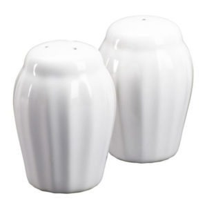 Corningware French White Salt Pepper Shaker Set 1086629