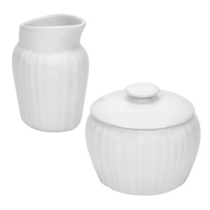 Corningware French White Sugar Creamer Set 1086628