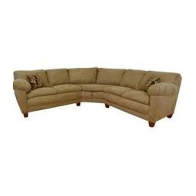 Chic Sectional Sofa Mocha