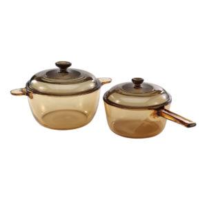 Visions 4 Pcs Saucepan Cookpot Set VS-312