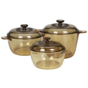 Visions 6 Pcs Covered Cookpot Set VS-330