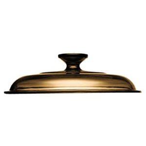Visions Amber Glass Cover 6021381 1.5 Qt