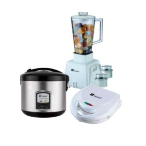Saisho Blender, Rice Cooker and Sandwich Maker