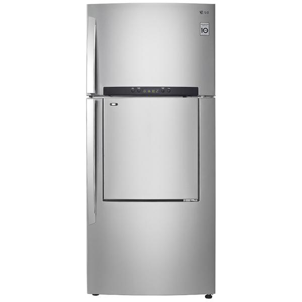 Get Lg Two Door Refrigerator Top Freezer Ref 702hlal On