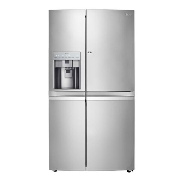 get the lg side by side refrigerator ref 257 wsbn. Black Bedroom Furniture Sets. Home Design Ideas