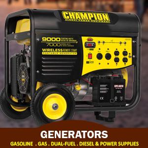 Generators & Power Supplies