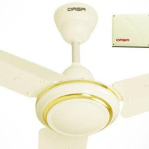 QASA 56 Inch Rechargeable Ceiling Fan LBQ033R9B