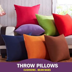 Cushions, Bean Bags & Throws