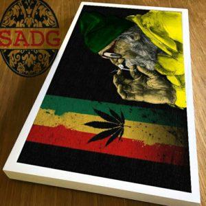 SADG Jamaican Themed Painting