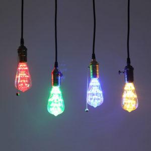 Retro Style Pendant Lamps
