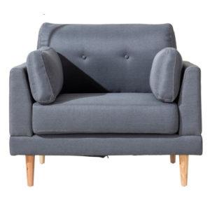 Dark Grey Accent Chair