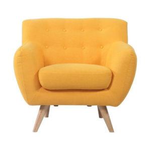 Yellow Leggy Chair