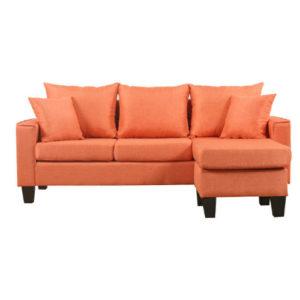 Orange Modern Sectional