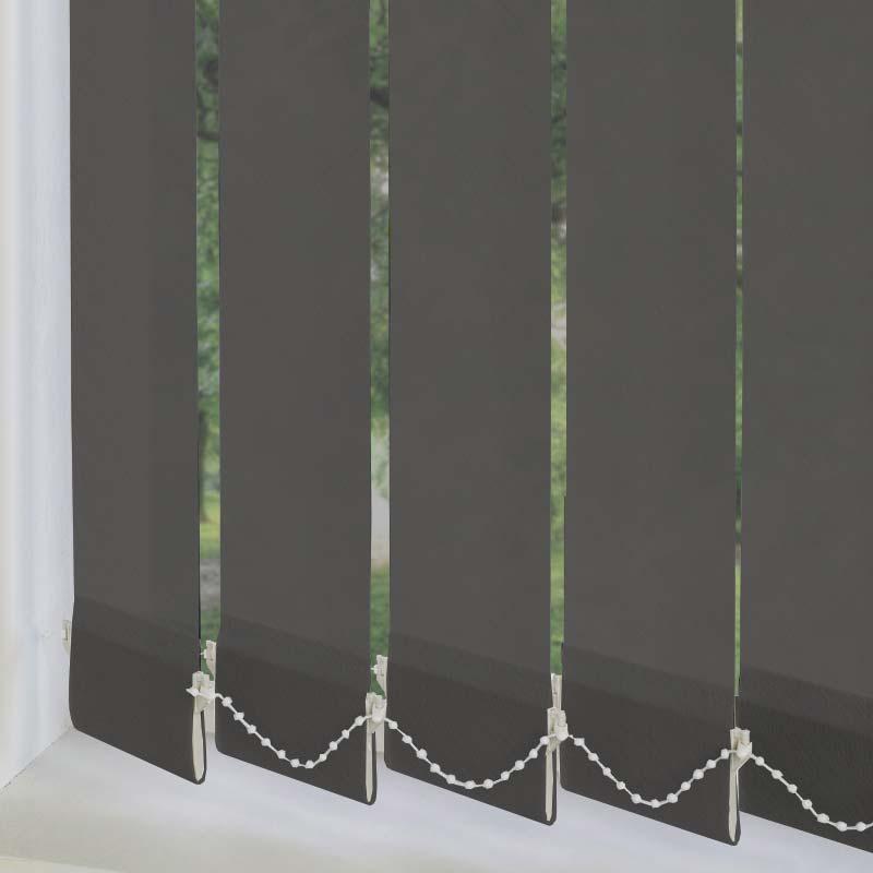 dark grey vertical blind decorhubng. Black Bedroom Furniture Sets. Home Design Ideas