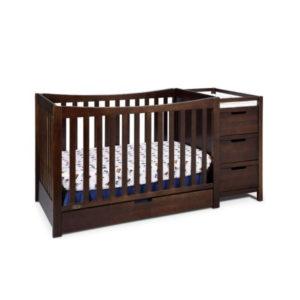 Garco Chocolate Baby Crib