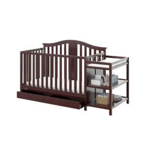 Fine Brown Baby Crib