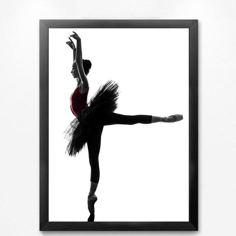 Ballet Dancer 3 Framed Wall Art