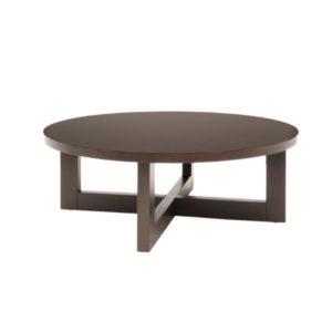 Mocha Round Coffee Table