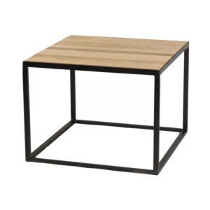 Modern Metal Frame Coffee Table