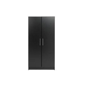 Plain Black Wardrobe