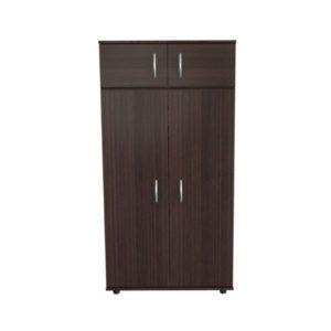 Top Shelf Brown Wardrobe