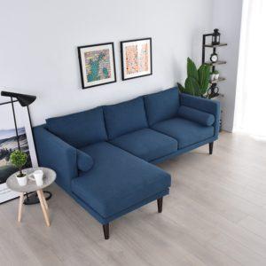 Italian Fabric L Shape Sofa